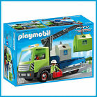 NEW PLAYMOBIL CITY 6109 GLASS SORTING TRUCK PLAYSET RECYCLING EDUCATIONAL TOY