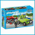NEW PLAYMOBIL 6111 LANDSCAPER with LAWN MOWER UTE & TRAILER PLAYSET EDUCATIONAL