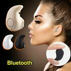 Invisible Mini Bluetooth Music Call In-ear Earphone Headphone Headset Universal
