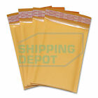 """1-3000 #000 4x8 Kraft Bubble Pad Mailers Self Seal Envelopes 4""""x8"""" Secure Seal"""