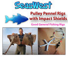 Pulley Pennel Rigs X 10 Sea Fishing - Made in Britain