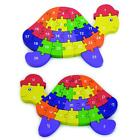 Wooden 3D Turtle Jigsaw Puzzle