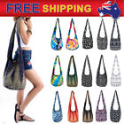 AU New Tribal Boho Messenger Crossbody Bags Cotton Yaam Purse Shoulder Sling Bag