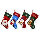 Personalised Luxury Embroidered Xmas Stocking Sack Santa Deluxe Christmas