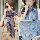 100% Cotton Fashion Ladies Autumn Winter Warm Soft And Comfortable Long Scarf
