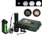 5000lm CREE XM-L T6 Zoomable Flashlight LED Military Torch 5 Mode 18650 Lamp