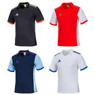 Adidas Men Volzo 15 Climacool Shorts Sleeve Jersey Training Top Tee Gym Soccer