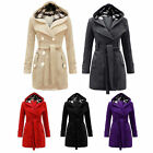 Fashion Women Warm Winter Parka Trench Hooded Long Section Jacket Outwear Coat