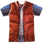 Back To The Future Movie Marty Mcfly Vest  Costume Outfit Uniform Front T-shirt