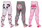 Baby Girls Tick Tock Novelty Animal Prints Tights 3 Designs 45b112
