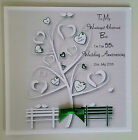 Stunning Personalised On Our 55th Emerald Wedding Anniversary Card Husband Wife