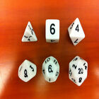 6pc/Set TRPG Games Dungeons & Dragons D4-D20 Multi-sided Dices Play Toy 6colors