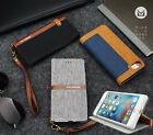 Luxus Leder Silica Card Holder Stand Soft Tasche Schutz hülle for iPhone 7 7Plus