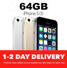 AS NEW IPHONE 5S 64GB GOLD SILVER SPACE GREY 100% GENUINE & UNLOCKED |MR|