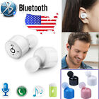 For iphone 7 6S Samsung Stereo Wireless Bluetooth Handsfree Headset Earphone New