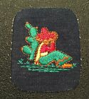 Vintage 70s NEW Never Used Sleeping Mexican Siesta Cactus Denim Patch Iron On