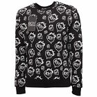 6070Q felpa uomo BOY LONDON nera sweatshirt men