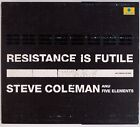 STEVE COLEMAN and FIVE ELEMENTS: Resistance is Futile 2001 France Jazz 2x CD