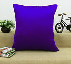 Decorative Dupion Silk Cushion Cover Home Decor Pillow Throws Case - Choose Size