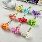 12/144Pcs Mini Artificial Calla Lily Wedding Flowers DIY Bouquet Handmake Decor