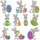 easter bunny machine embroidery patterns 10 designs