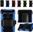 2Layer Rugged Case Cover w/Holster Clip For Alcatel One Touch PIXI Avion LTE