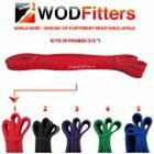 """New WODFitters Pull Up Assist / Mobility Exercise 41"""" Loop Resistance Bands WOD"""