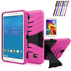 "Hybrid Tough Hard Stand Cover Case for Samsung Galaxy Tab 4 7.0"" inch SM-T230"