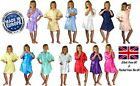 Children's Personalised Satin Silky Wedding Robe / Dressing Gown - in 10 colours