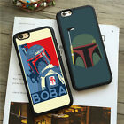 Star Wars Boba Fett Soft Rubber Fit iPhone 5c 5/5s 6/6s 7 8 Plus x Case Cover $11.67 CAD on eBay