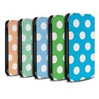 STUFF4 PU Leather Case/Cover/Wallet for Samsung Galaxy S5/SV/Polka Dot Pattern