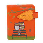 Park Bench Owls - Small Zipper Wallet  - Shagwear - New