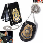2016 Special Agent Dss Fast Furious Luke Hobbes Badge With Holder With Chain new