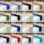 TAFFETA TABLE RUNNER  270 cm Long x 22 cm Wide 30+ COLOURS WEDDING PARTY UK