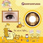 Soft Color Contact Lenses Pom pom purin&Cartoon Set Free Case+Bottle+Bag.