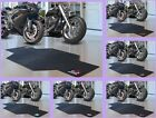 NBA Licensed Rubber Motorcycle Mat Garage Floor Protector Area Rug - Choose Team