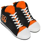 Cincinnati Bengals Mens High Top Sneakers Slippers by Forever Collectibles $24.99 USD on eBay
