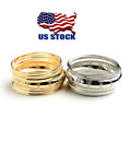 New Women Gold or Silver Plated Jewelry Fashion Wrap Cuff Bracelets