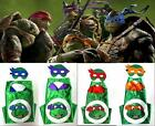 Ninja Turtls Capes With Masks For Kids Birthday Ideas Or Favors Free Shipping