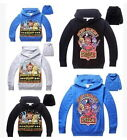Fnaf Sweatshirts Five Nights at Freddy's Boys Girls Kids Hoodies Sweatshirt Tops