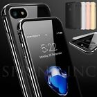 Luxury Shockproof Aluminum Metal Gel Bumper Clear Hard Case for iPhone 6s 7 Plus