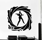 Wall Vinyl Decal James Bond 007 Spy British Secret Service Interior Decor z4028 $67.99 USD