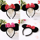Children Kids Minnie Mickey Mouse Ears Hen Nights Party Fancy Dress Up Headband