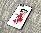 Betty Boo Boop Back Phone Case Fits Iphone 4 4S 5 5C 5S SE 5C 6 6S 7 Plus Rubber £7.99 GBP on eBay