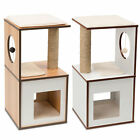 Vesper V-Box Small - Play Furniture for Cats and Kittens - Walnut or White