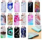 Ultra Slim Granite Marble Stone Texture Pattern Soft TPU Rubber Case For iPhone