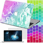 New Marble Painted Hard Case Laptop Cover for Macbook Pro 13/15 Retina12 Air 11