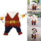 Pet Dog Cat Costume Suit Clothes Costume Superhero Police Party Halloween Dress0
