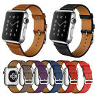 Genuine Leather Watch Band Bracelet Replacement Strap For Apple Watch 38/42MM