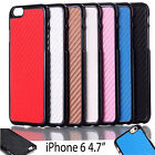 New Luxury Ultra Slim Carbon Fiber Hard Back Case Cover For Apple iPhone 6 4.7""